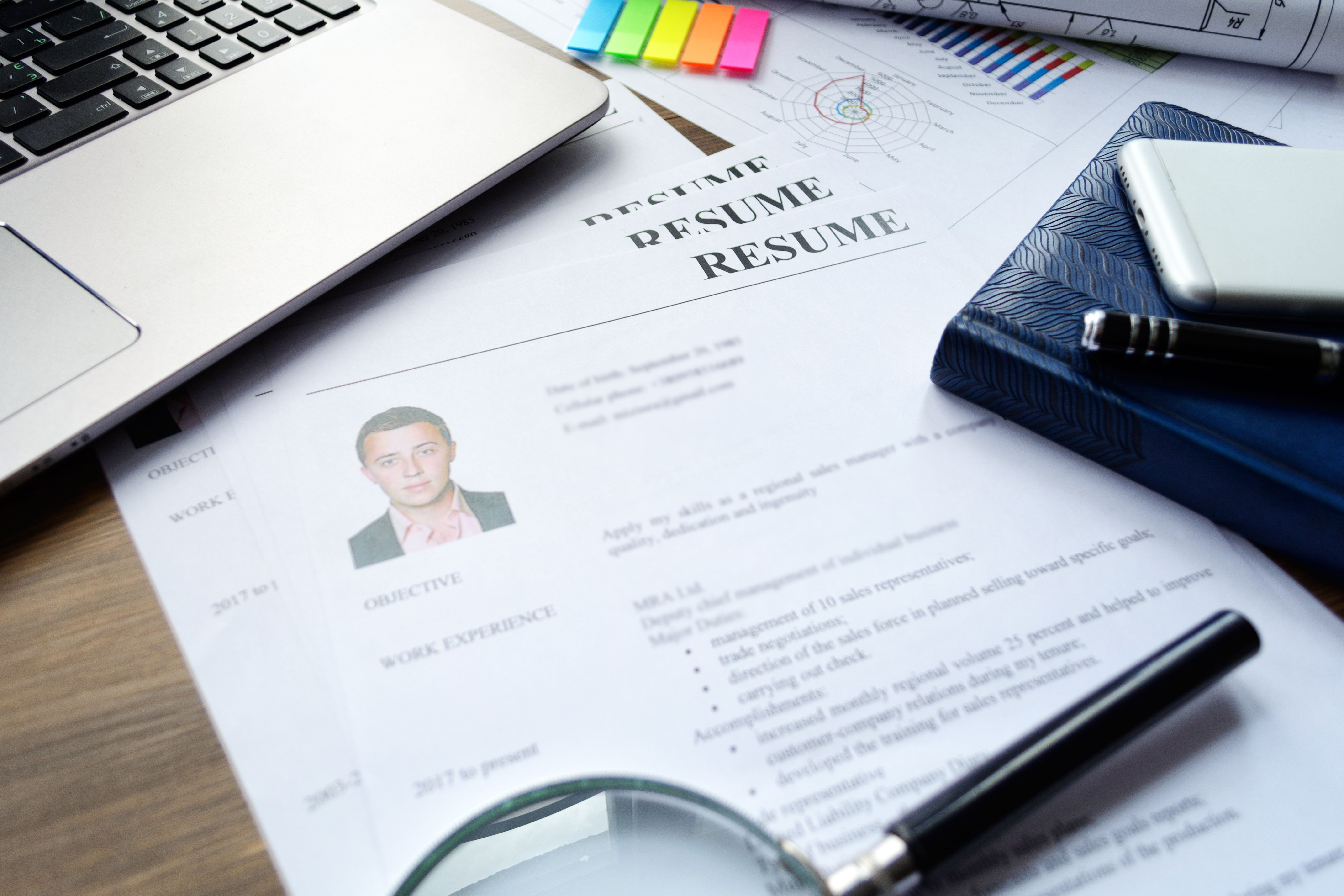 Resume (curriculum Vitae, CV)