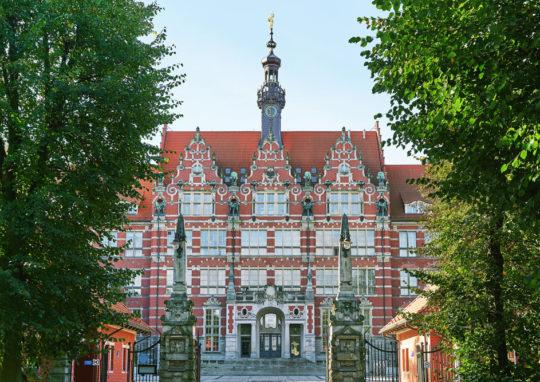 Gmach główny Politechniki Gdańskiej