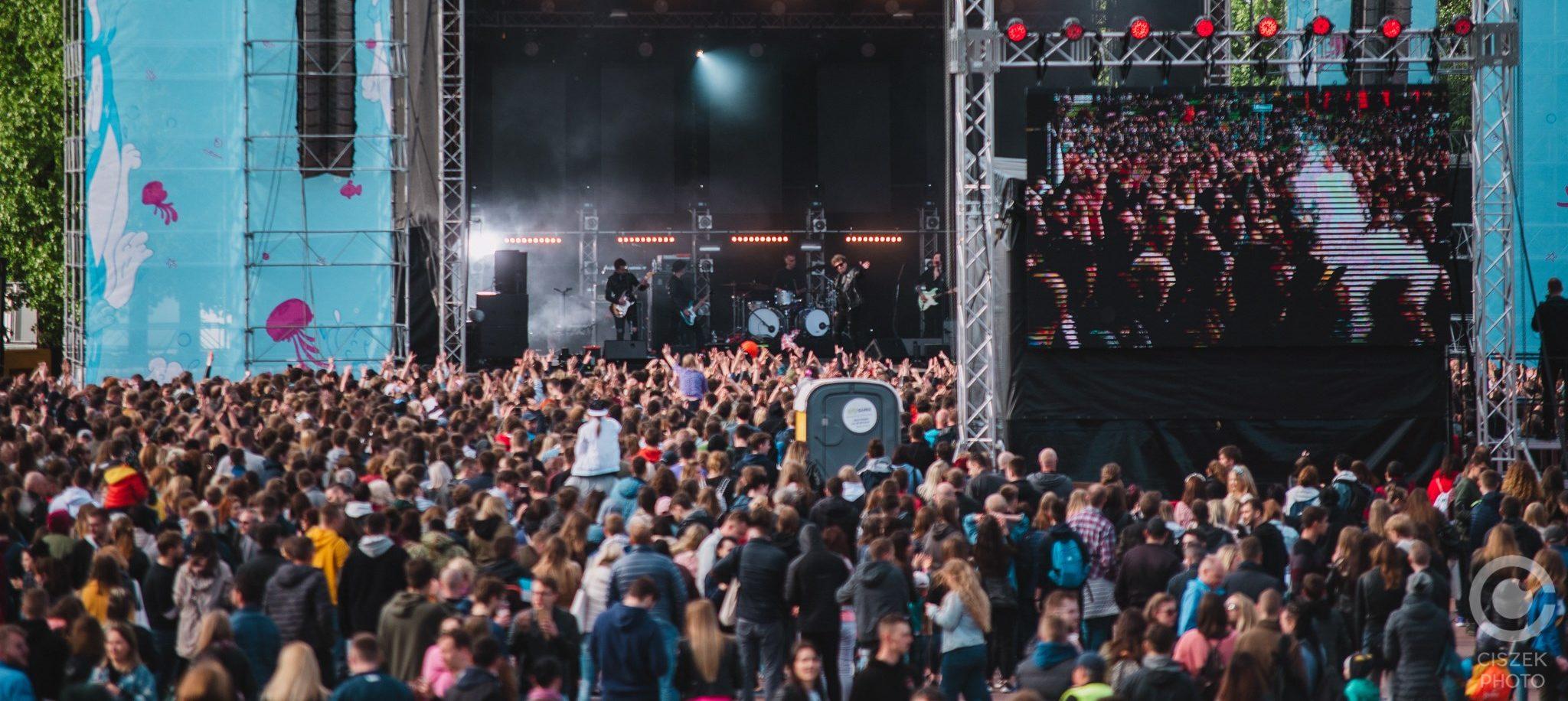 Main Stage Plac Zebrań Ludowych Juwenalia w Trójmieście