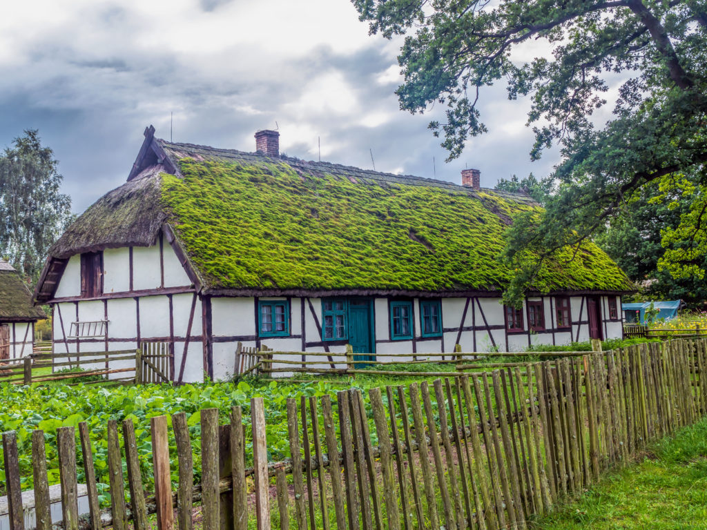 Stara farma w Klukach