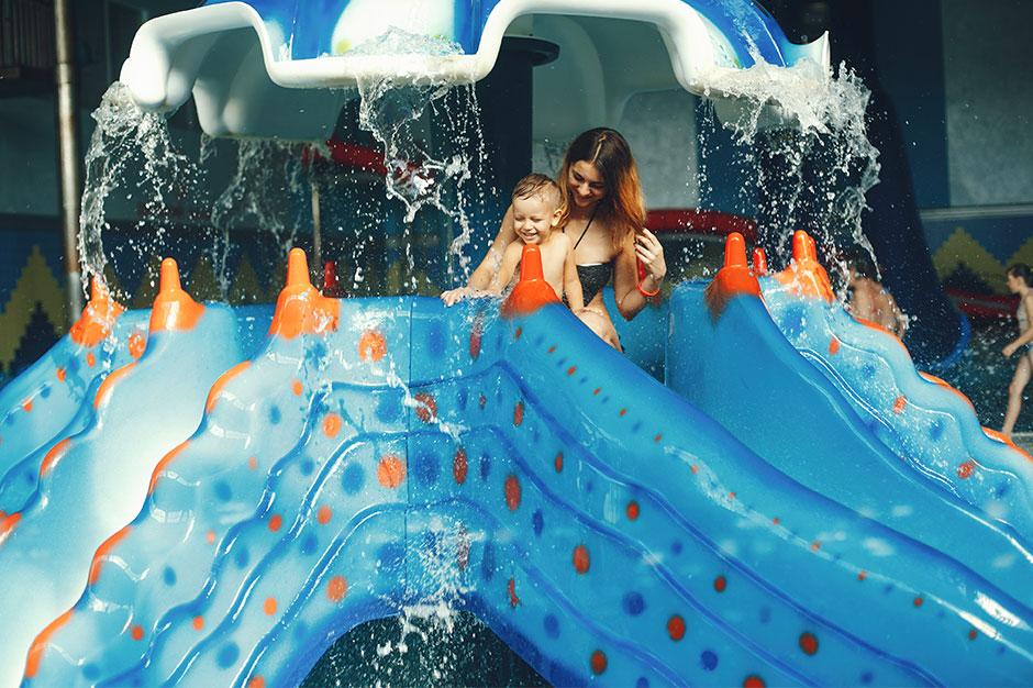 Mama I Dziecko W Aquaparku
